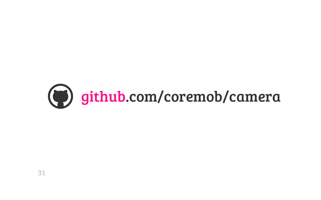 github.com/coremob/camera  31