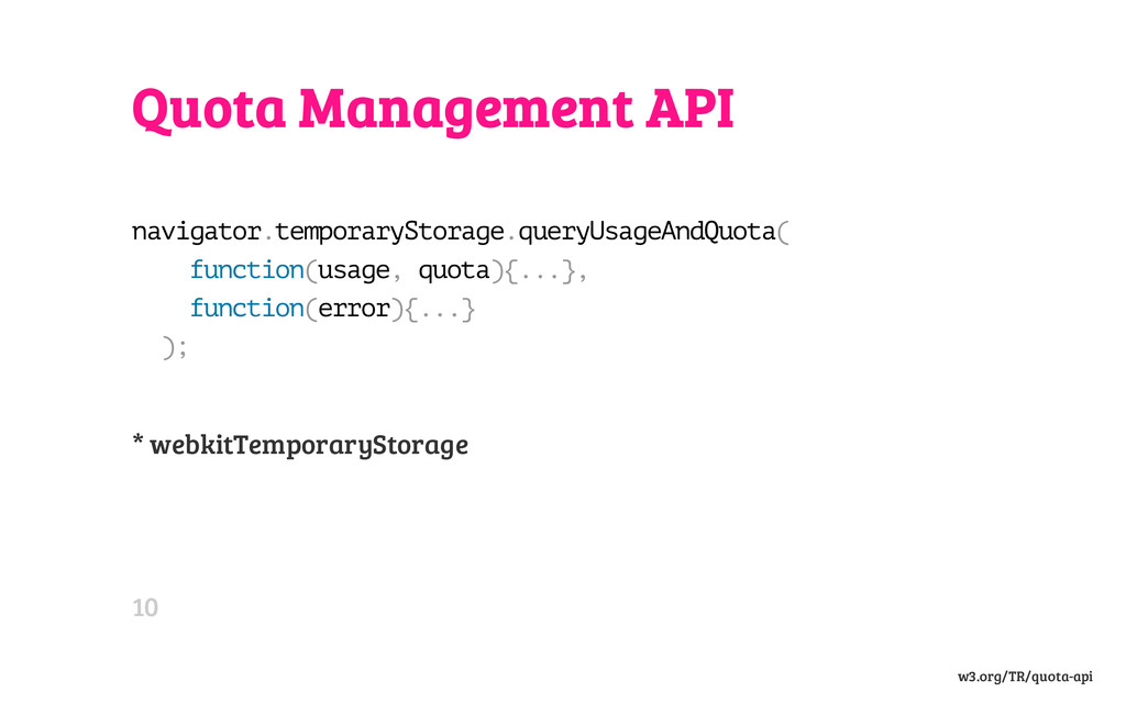 Quota Management API n a v i g a t o r . t e m ...