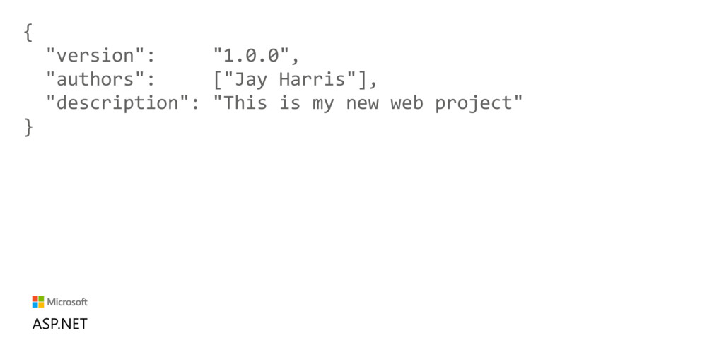 "{ ""version"": ""1.0.0"", ""authors"": [""Jay Harris""]..."