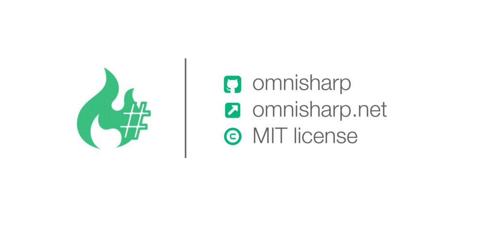 & omnisharp omnisharp.net MIT license ! 