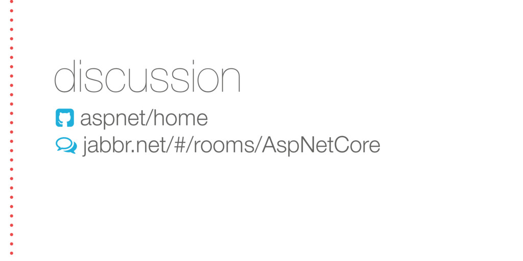 discussion ! aspnet/home + jabbr.net/#/rooms/As...