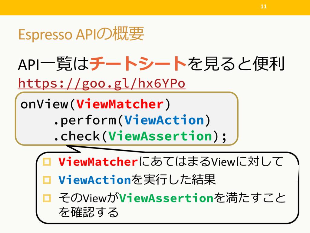 Espresso API API  https://goo....