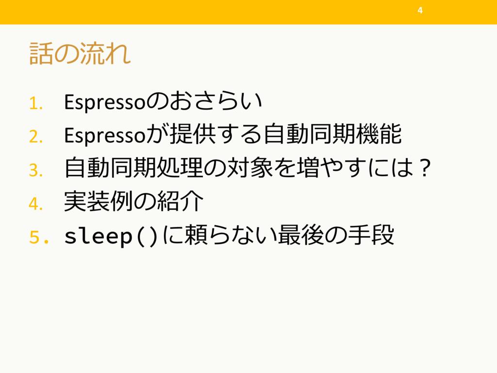 ! 1. Espresso  2. Espresso# 3....