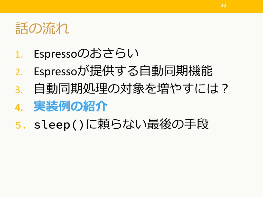 """1. Espresso  2. Espresso"""" 3...."""