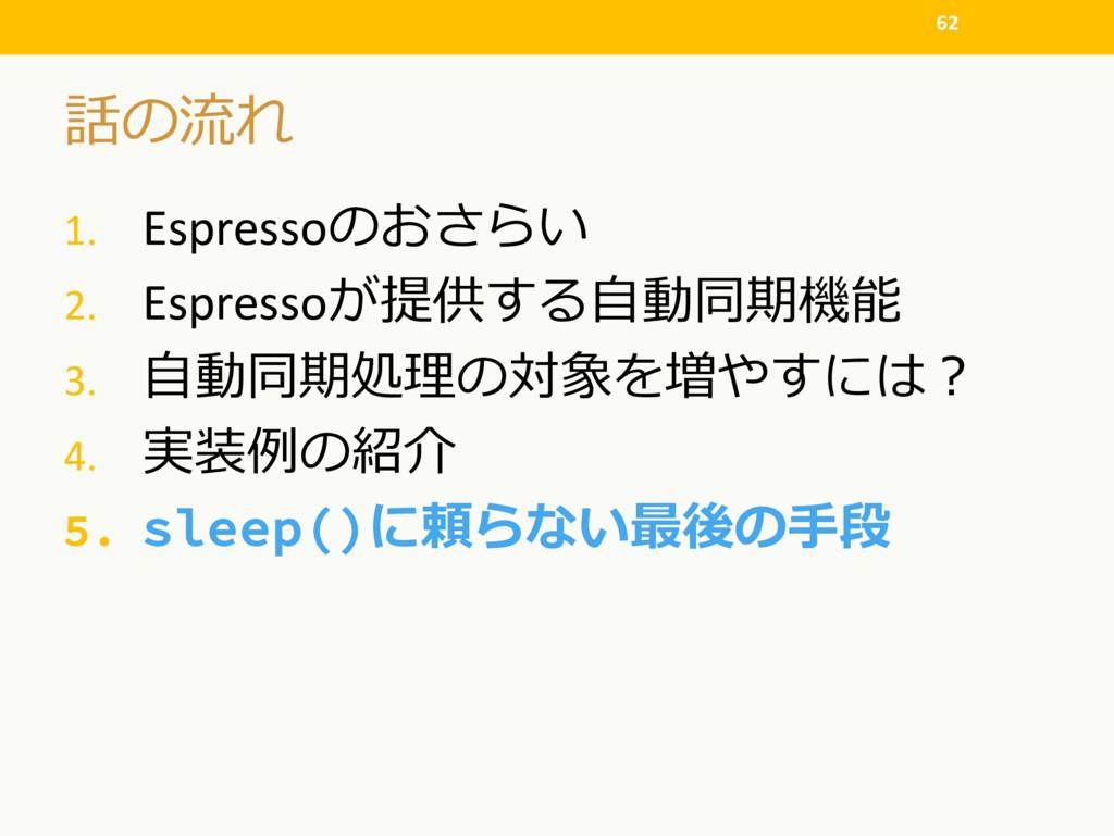 1. Espresso  2. Espresso 3....