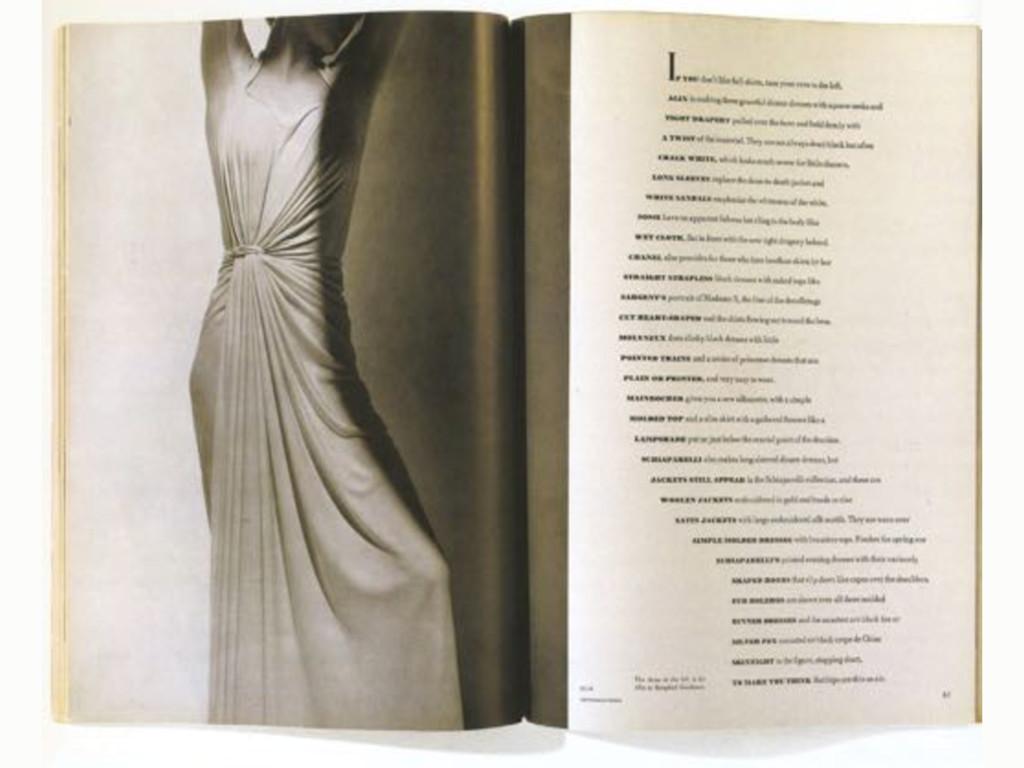 Harpers Bazaar magazine 1934–1958