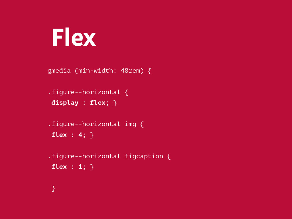 Flex-grow // Boxes have equal width .box { flex...