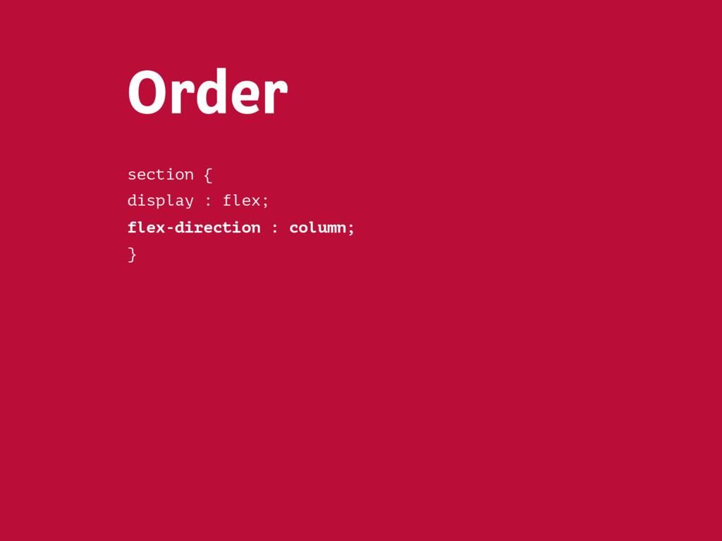 Flex-basis <section> <article>…</article>  <a...