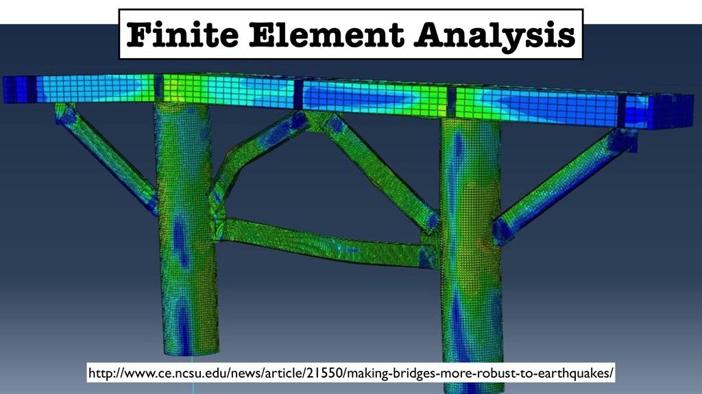 Finite Element Analysis http://www.ce.ncsu.edu/...