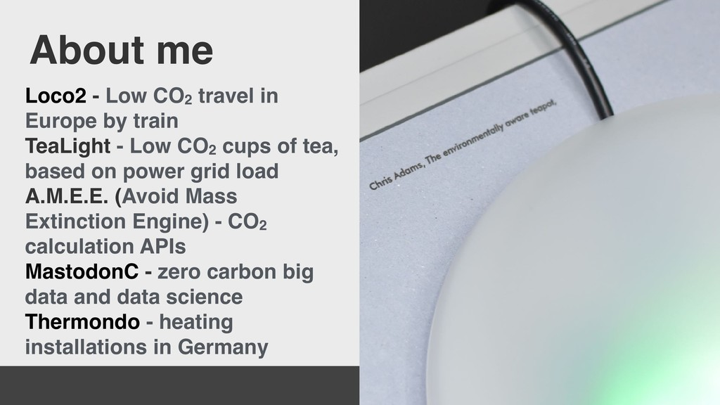 Loco2 - Low CO2 travel in Europe by train TeaLi...