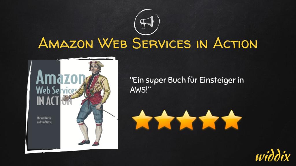 """Amazon Web Services in Action """"Ein super Buch f..."""