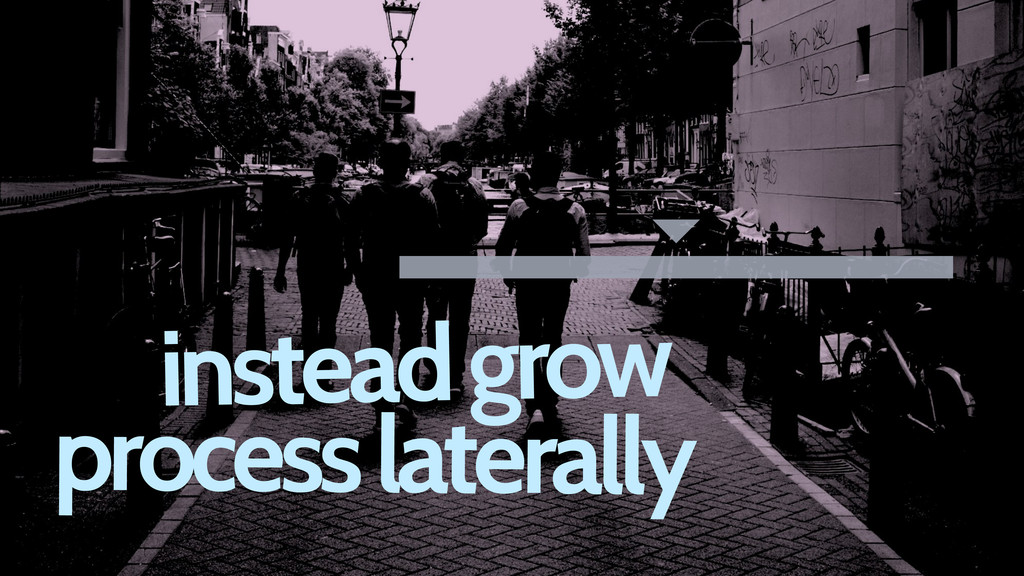 instead grow process laterally
