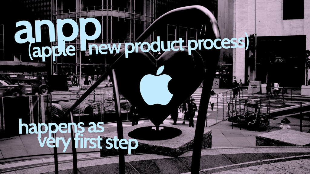  (apple new product process) happens as very f...