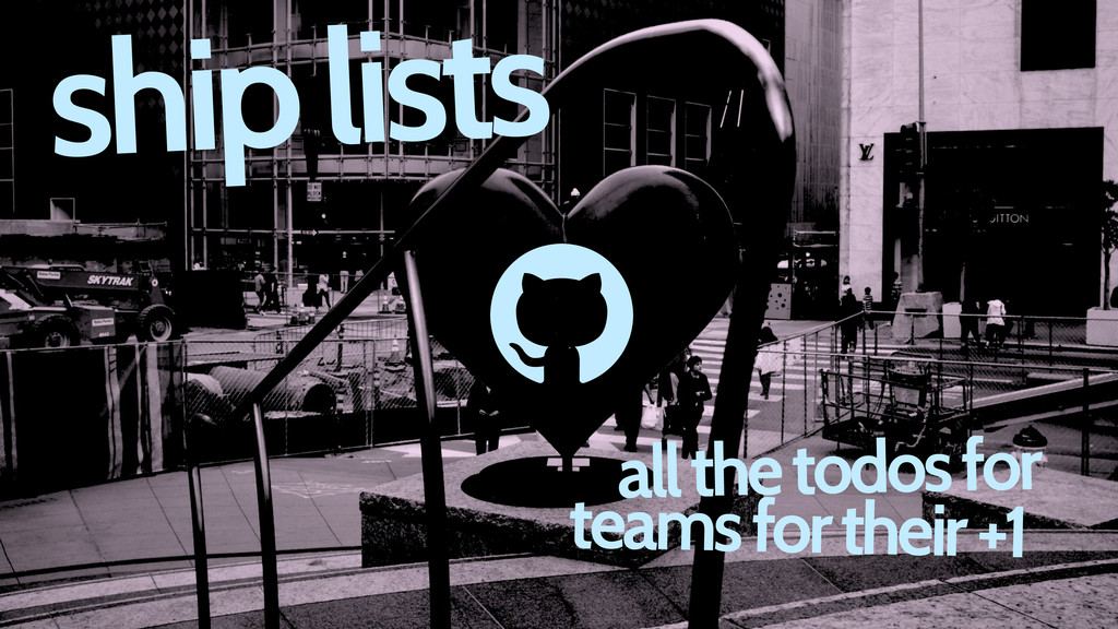 d ship lists all the todos for teams for their ...