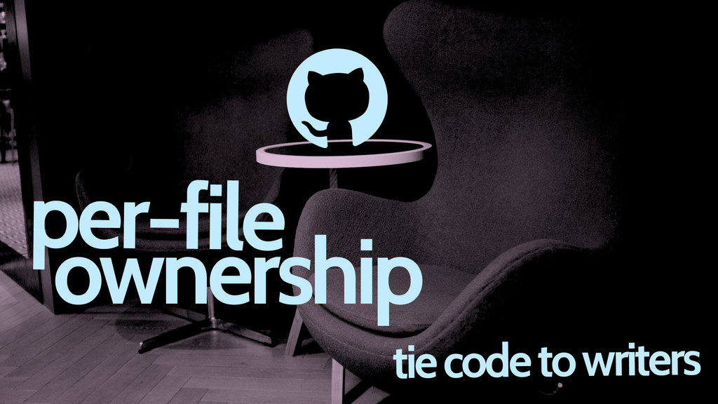 tie code to writers d per-file ownership