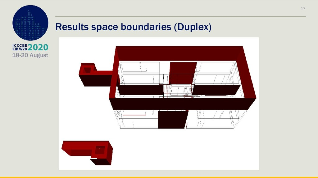 18-20 August Results space boundaries (Duplex) ...