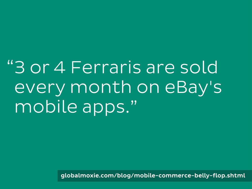 3 or 4 Ferraris are sold every month on eBay's ...