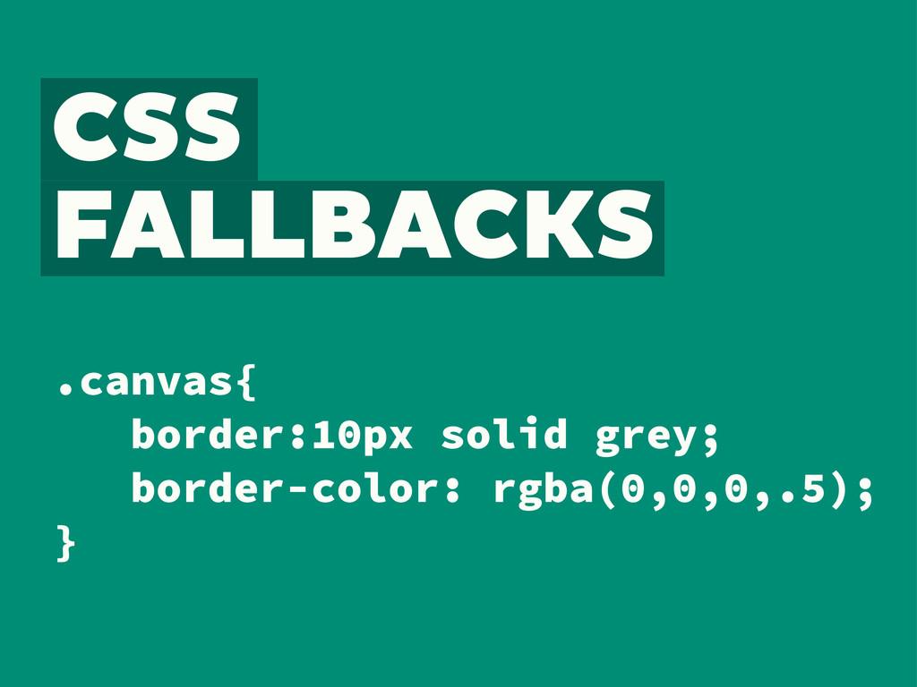 .canvas{ border:10px solid grey; border-color: ...
