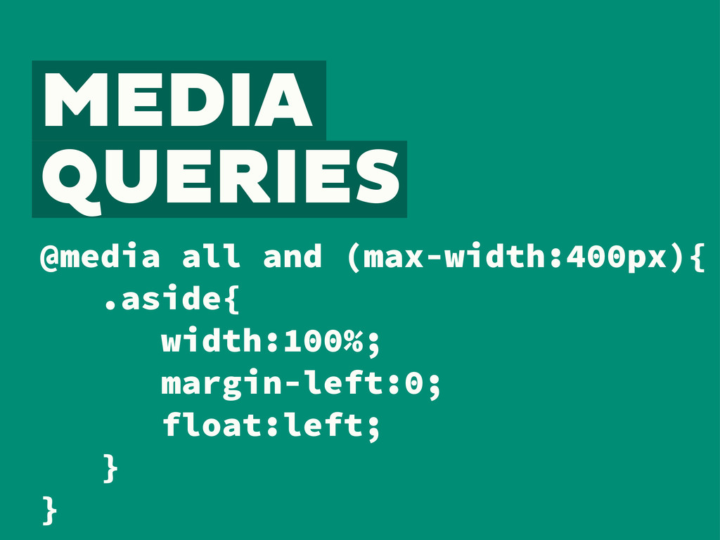 @media all and (max-width:400px){ .aside{ width...