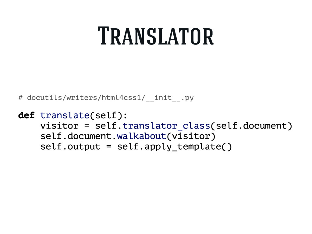 # docutils/writers/html4css1/__init__.py def tr...