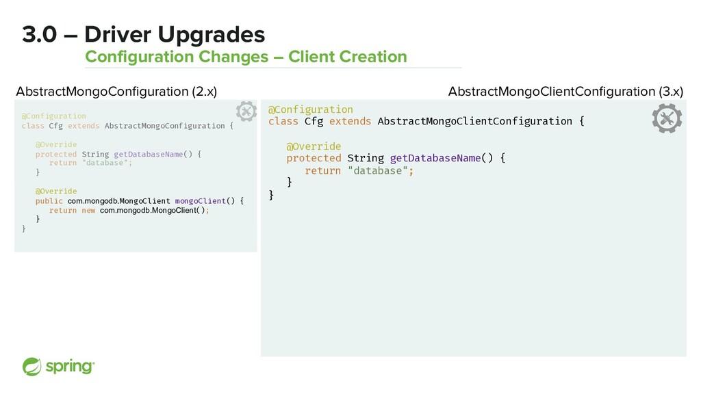 @Configuration class Cfg extends AbstractMongoC...