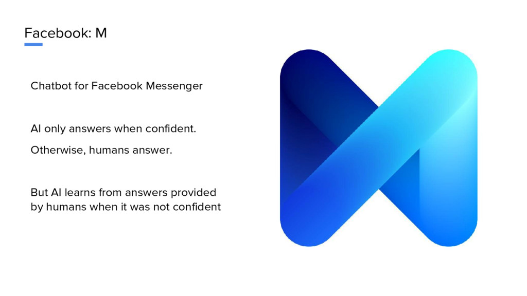Facebook: M Chatbot for Facebook Messenger AI o...