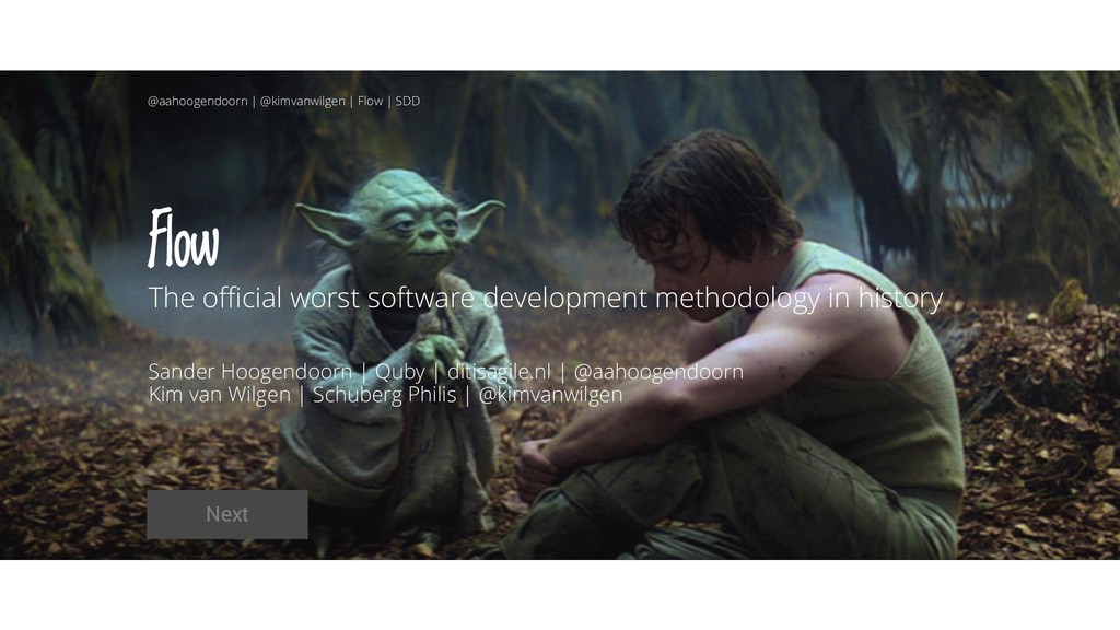 Flow The official worst software development me...