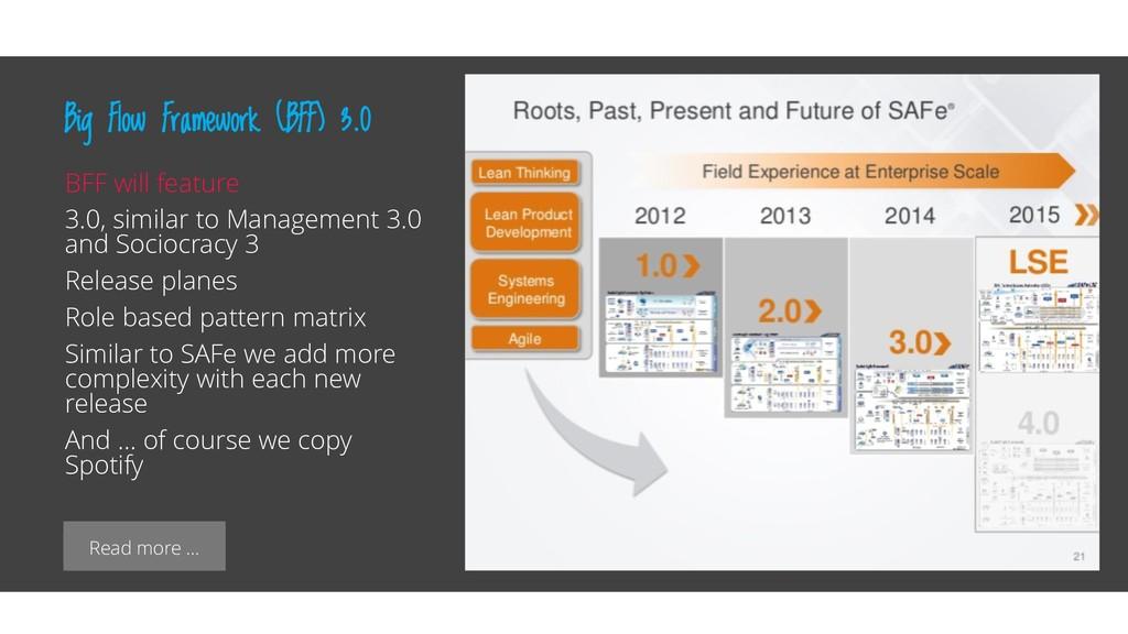 Read more … Big Flow Framework (BFF) 3.0 BFF wi...