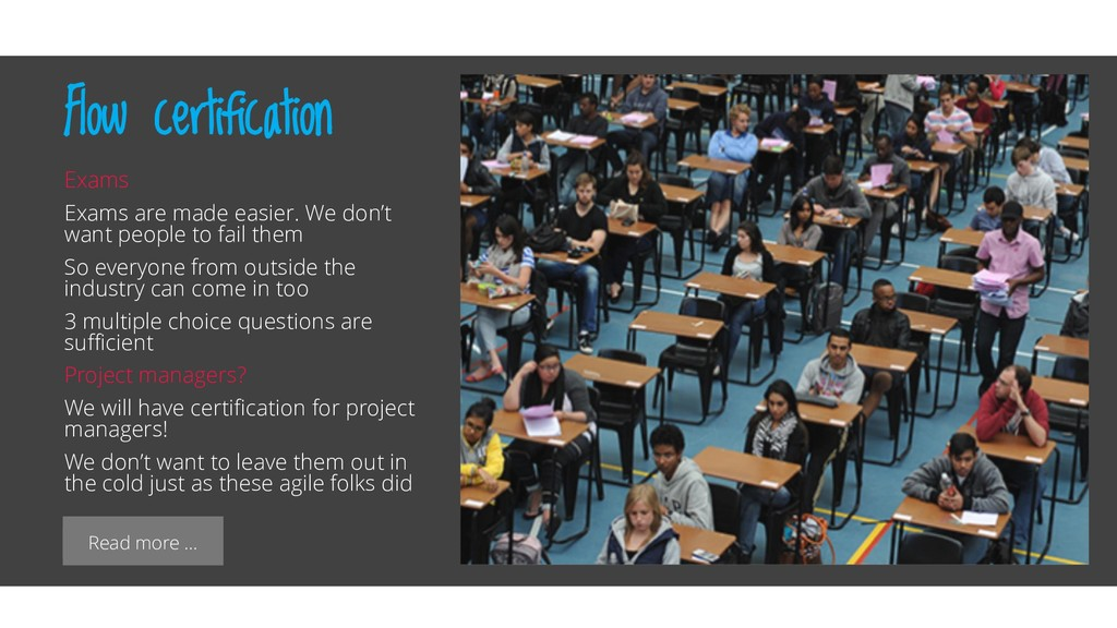 Read more … Flow certification Exams Exams are ...