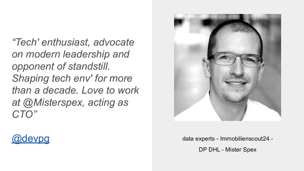 """Tech' enthusiast, advocate on modern leadershi..."