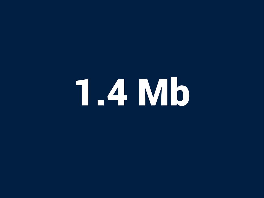 1.4 Mb