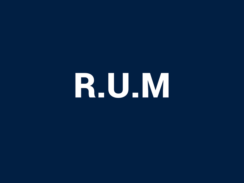 R.U.M