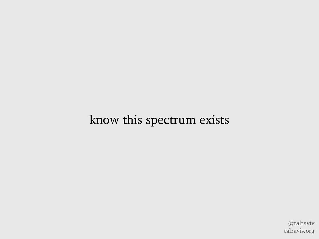 @talraviv talraviv.org know this spectrum exists