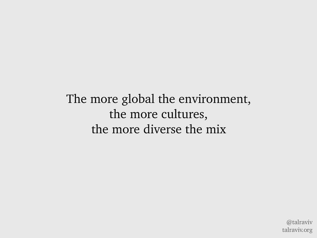 @talraviv talraviv.org The more global the envi...