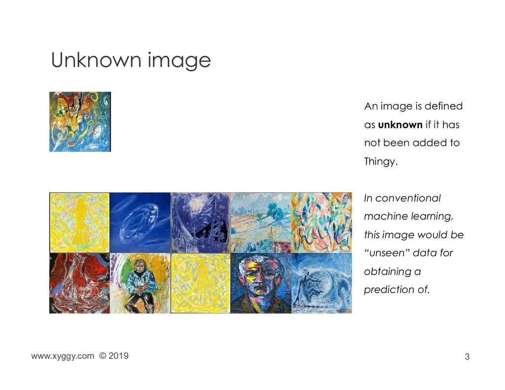 3 Unknown image An image is defined as unknown ...