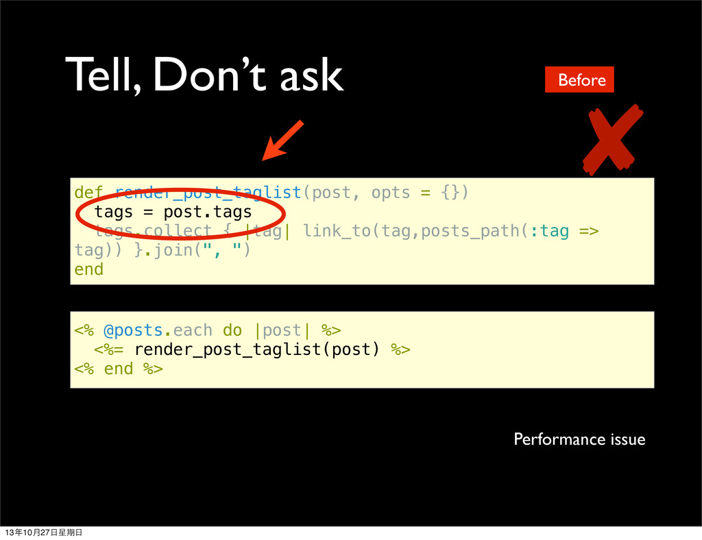 Tell, Don't ask def render_post_taglist(post, o...