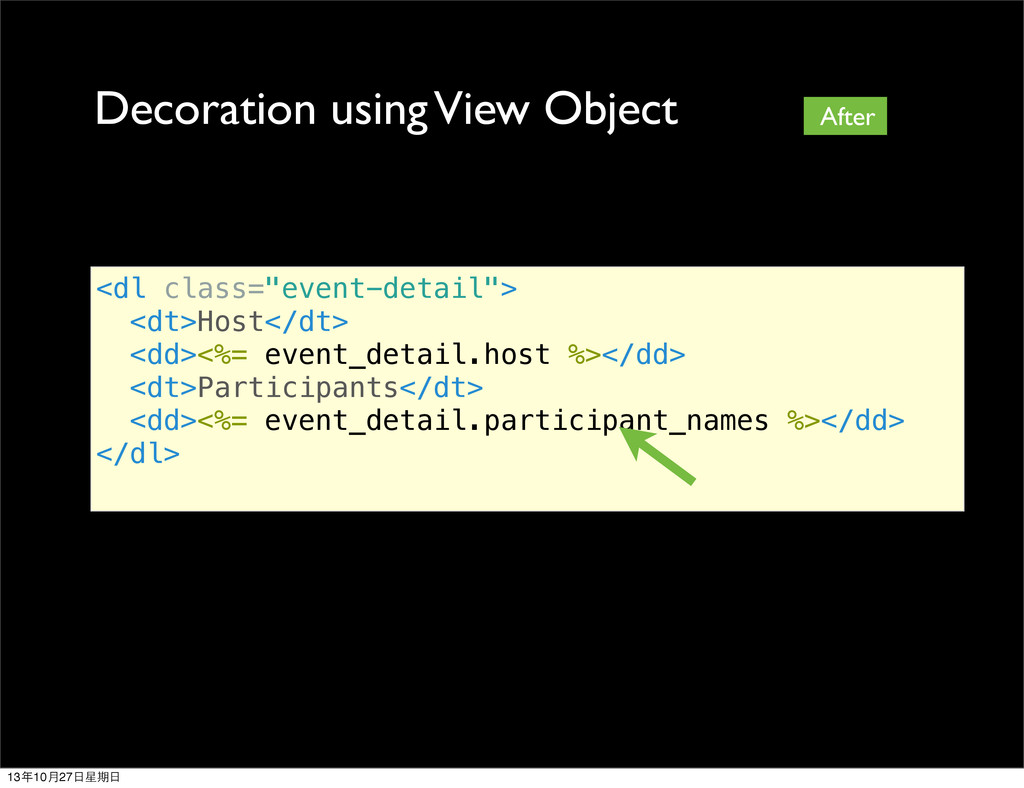 "<dl class=""event-detail""> <dt>Host</dt> <dd><%=..."