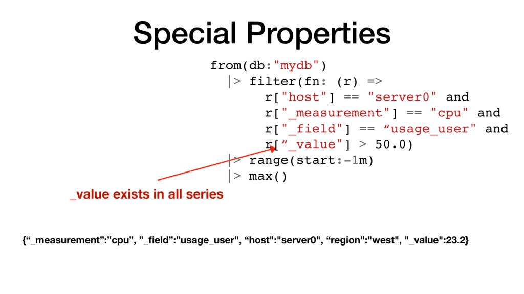 Special Properties _value exists in all series ...