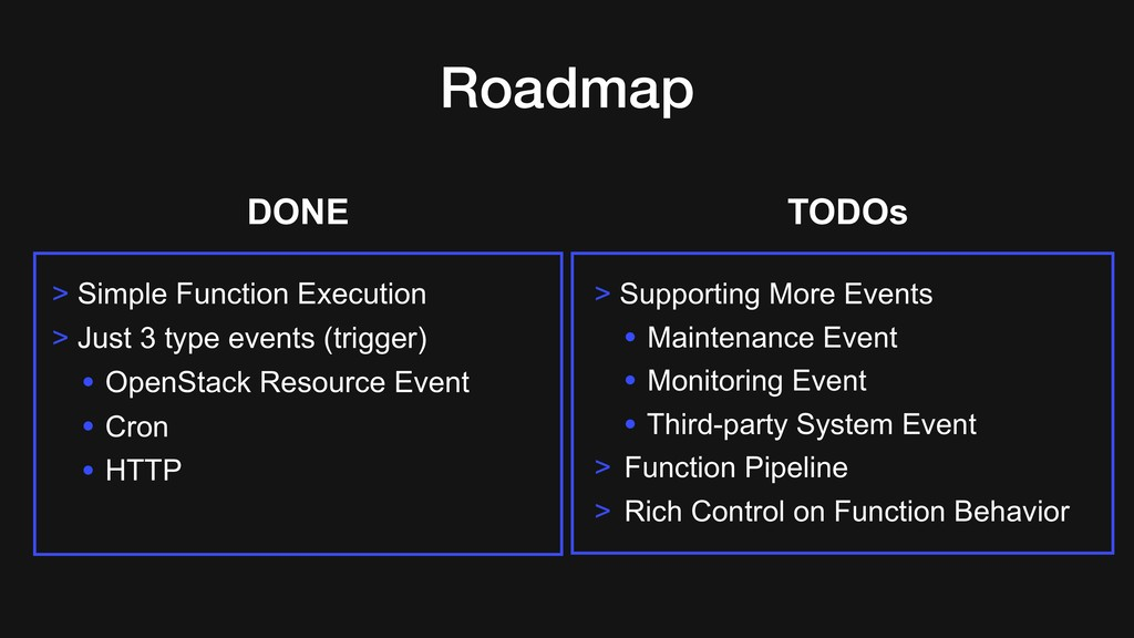 Roadmap > Simple Function Execution > Just 3 ty...
