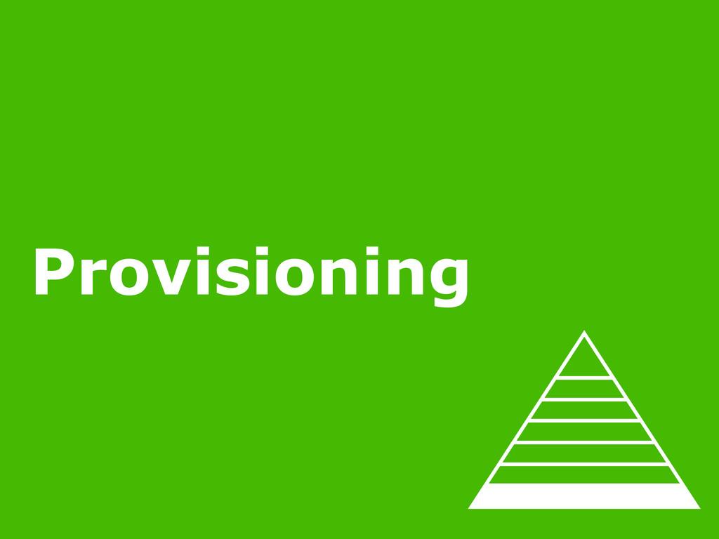 2/22/15 MINIMUM VIABLE OPS Provisioning