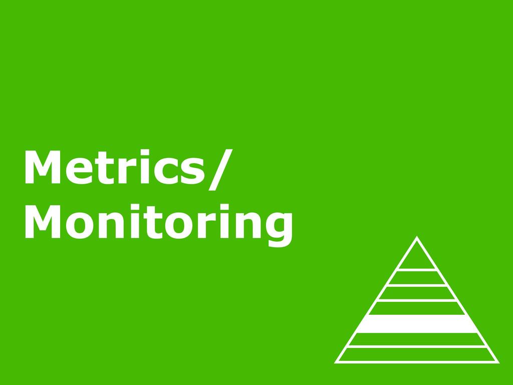 2/22/15 MINIMUM VIABLE OPS Metrics/ Monitoring
