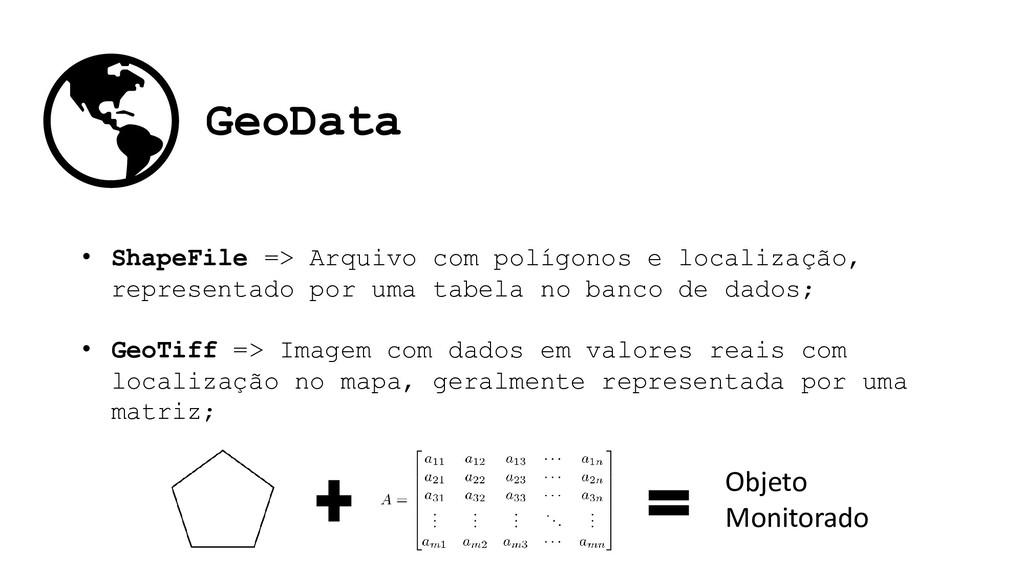 GeoData • ShapeFile => Arquivo com polígonos e ...