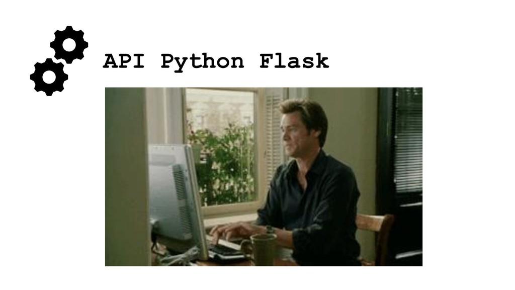 API Python Flask