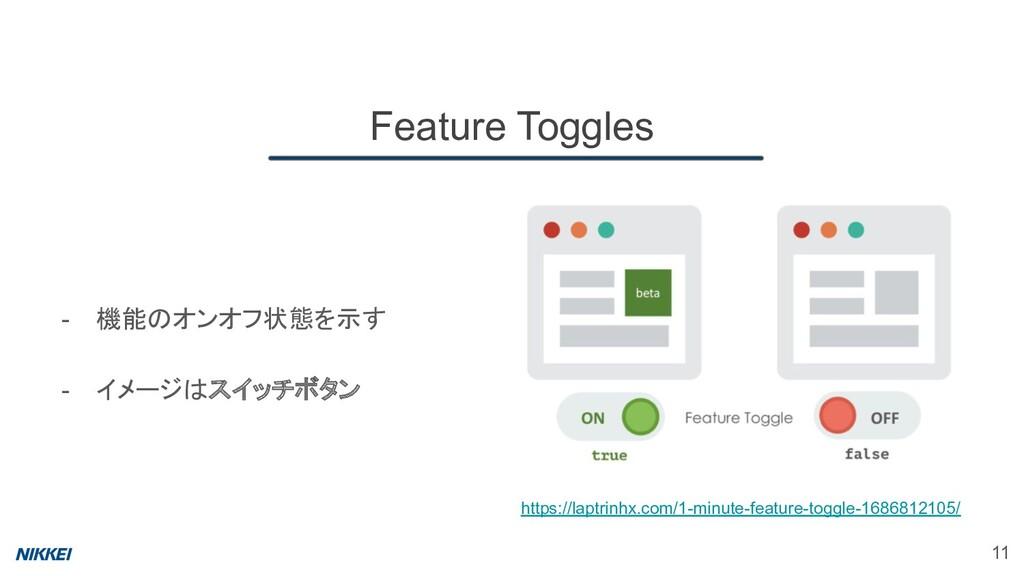 Feature Toggles 11 https://laptrinhx.com/1-minu...