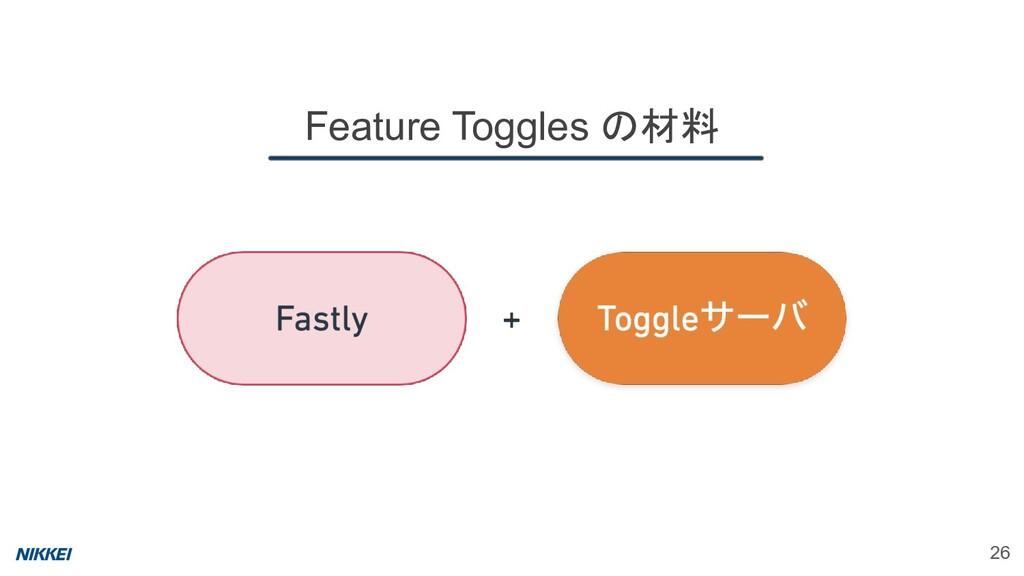 26 Feature Toggles の材料