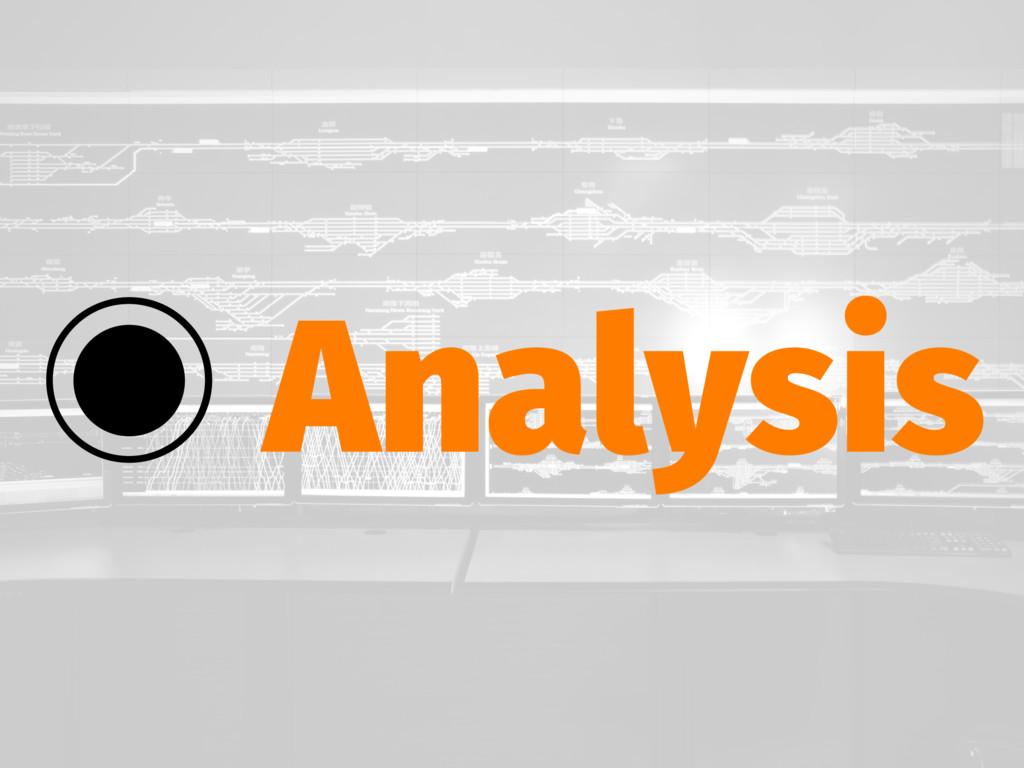 ‒ Analysis