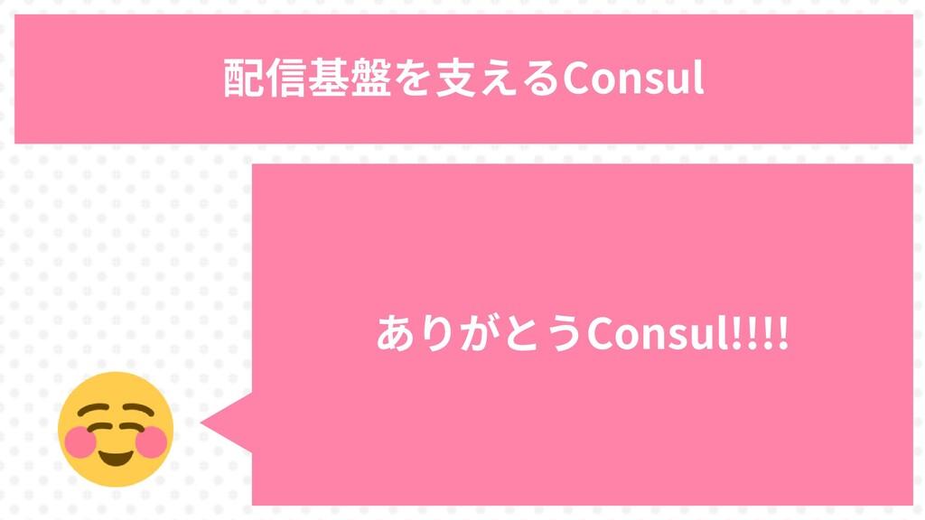 86 配信基盤を支えるConsul ありがとうConsul!!!!