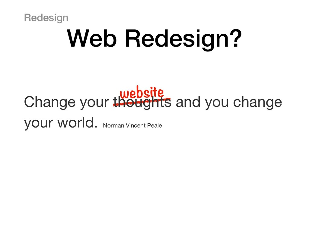 website Change your thoughts and you change you...