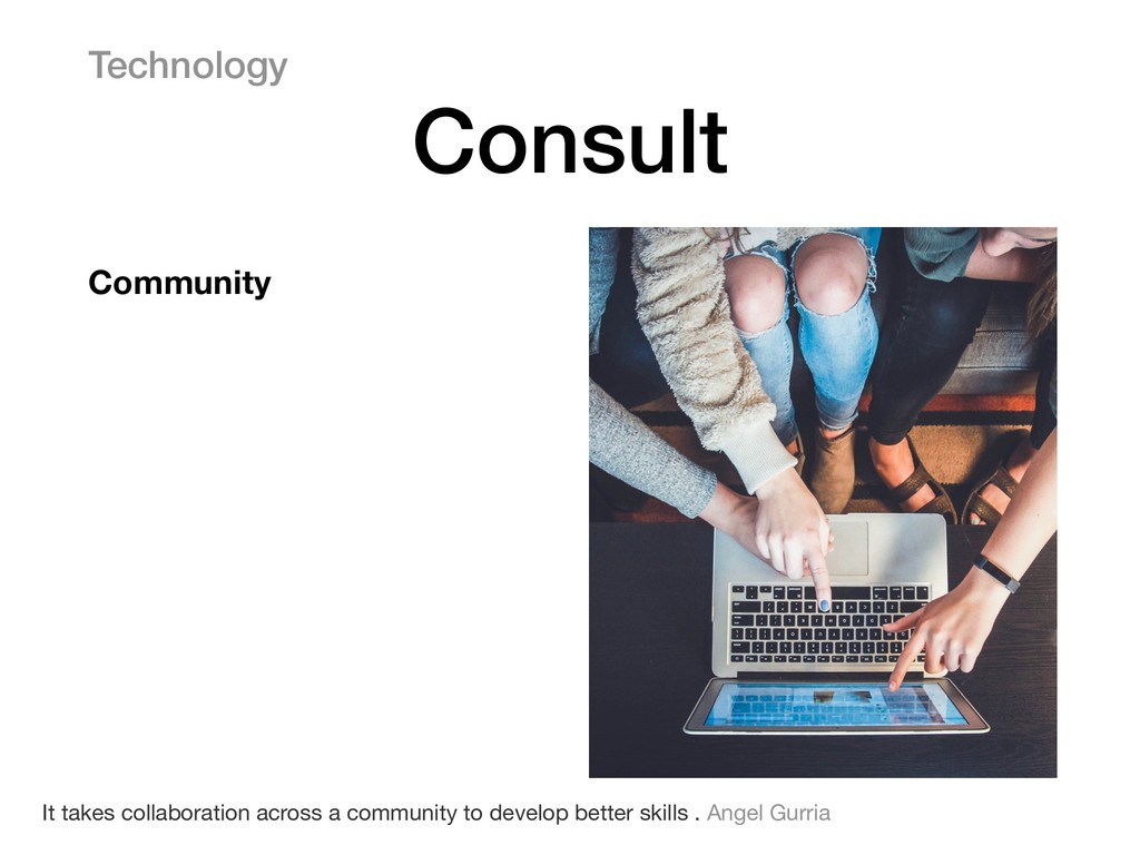 Community Technology Consult It takes collabora...