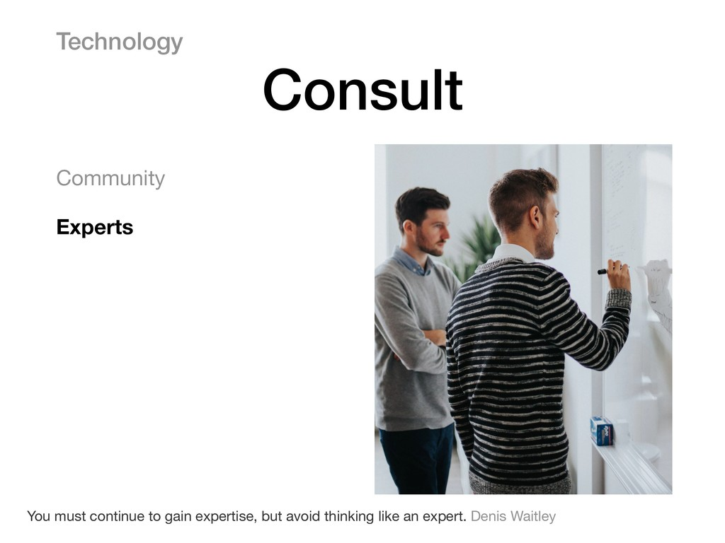 Community  Experts Technology Consult You must ...